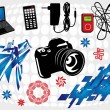 Royalty-Free Stock Vector Image: Electronics Design Set