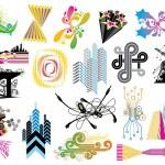 Design Elements Set — Stock Vector