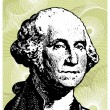 George Washington - Stock Vector