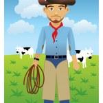 Cowboy — Stock Vector #4157030