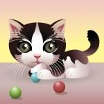 Cat — Stock Vector