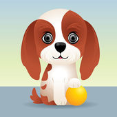 Puppy Dog — Stock Vector