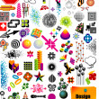 Design Elements Collection - Stock Vector