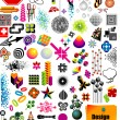 Stock Vector: Design Elements Collection