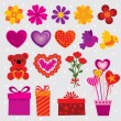 Royalty-Free Stock Vector Image: Love Decorations