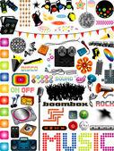 Music Graphics — Stock Vector