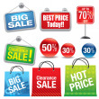 Shopping Bags - Imagen vectorial