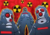 Toxic — Stock Vector