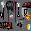 Music Devices - Stock Vector