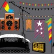 Music Festival — Stock Vector #4636812