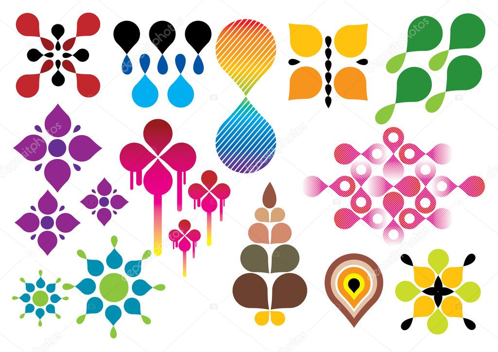 Shapes vector set, this image is part of my urban collection. — Stock Vector #4652703