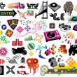 Clip-Art-pack — Stockvektor #5139690
