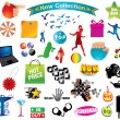 Royalty-Free Stock Imagen vectorial: Clip Art Collection