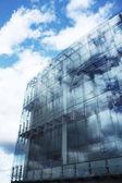 现代玻璃建筑 — 图库照片