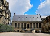 Palace of Tau in Reims. — Stock Photo