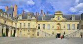 Palace of Fontainebleau. — Stock Photo