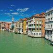 View from Bridge Ponte di Rialto in Venice — Stock Photo