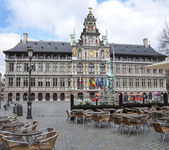 City Hall In Antwerp, Belgium — Stock Photo