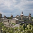 City's castle. Kamianets-Podilskyi. Ukraine — Stock Photo