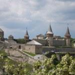 City's castle. Kamianets-Podilskyi. Ukraine — Stock Photo