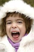 Högljutt barn — Stockfoto