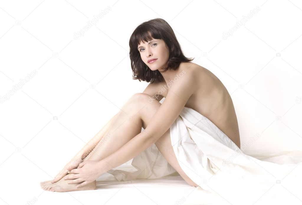 Spa girl on a white background  — Stock Photo #4793875