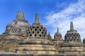 Stupa at Borobudur — Стоковое фото