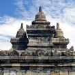 Buddhist temple Borobudur. Yogyakarta. Java — Stock Photo