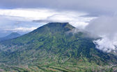 Mount Merbabu dormant stratovolcano,Indonesia — Stock Photo