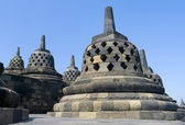 Buddhist temple Borobudur. Yogyakarta — Zdjęcie stockowe