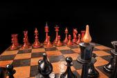 Chess armies — Stock Photo