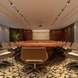 3D rendering of a Conference room — Stock Photo