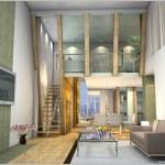 Rendering Interior living-room — Stock Photo #4085369
