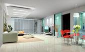 Interior living-room — Stock Photo