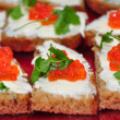 Red caviar — Stock Photo #4602134