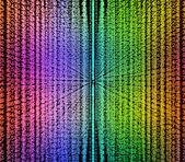 Color matrix background computer generated — Stock Photo