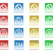 Badges — Stock Photo