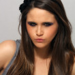 Beautiful Young Brunette, Headshot (6) — Stok fotoğraf