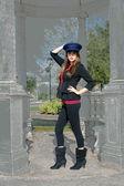 Beautiful Brunette Guard (2) — Stockfoto
