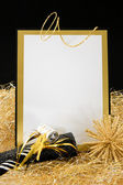 Black and Gold New Year — Stok fotoğraf