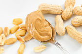 Peanuts and Peanut Butter — Stock Photo
