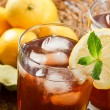 Refreshing Iced Tea - Stock Photo