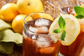 Refreshing Iced Tea — Stock Photo