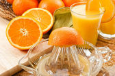 Fresh Squeezed Orange Juice — Stock Photo
