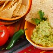 Fresh Guacamole - Stock Photo