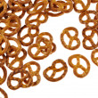 Bavarian pretzel - Stock Photo