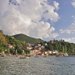 Stock Photo: Village at lake - Trpejca