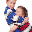 Two brothers hugging — Stock Photo #5137655