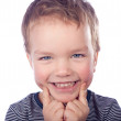 Portrait of small boy — Stock Photo