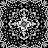Indian carpet — Stock Vector